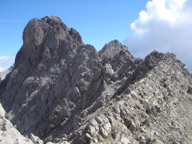 Foto: Manfred Karl / Klettersteig Tour / Seekofel Klettersteig / Der Seekofelgrat / 14.05.2009 22:48:55