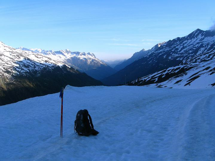 Foto: Andreas Koller / Ski Tour / Rassige Frühjahrstour auf die Schermerspitze (3117 m) / Weit reicht der Blick / 19.05.2009 02:01:25