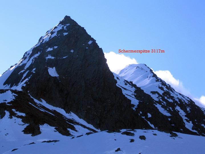 Foto: Andreas Koller / Ski Tour / Rassige Frühjahrstour auf die Schermerspitze (3117 m) / 19.05.2009 01:57:09