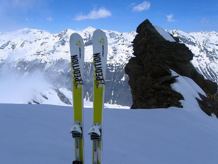 Foto: Andreas Koller / Ski Tour / Rassige Frühjahrstour auf die Schermerspitze (3117 m) / 19.05.2009 01:45:40