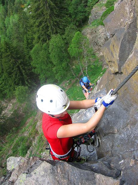 Foto: Andreas Koller / Klettersteig Tour / Stuibenfall Klettersteig (1460m) / 25.05.2009 18:46:57