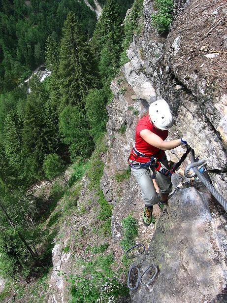 Foto: Andreas Koller / Klettersteig Tour / Stuibenfall Klettersteig (1460m) / 25.05.2009 18:46:49