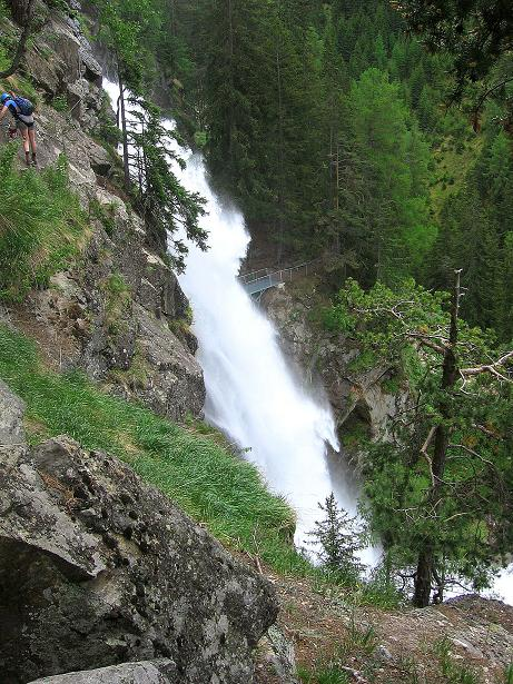 Foto: Andreas Koller / Klettersteig Tour / Stuibenfall Klettersteig (1460m) / 25.05.2009 18:46:33