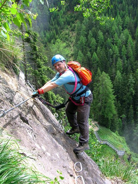 Foto: Andreas Koller / Klettersteig Tour / Stuibenfall Klettersteig (1460m) / 25.05.2009 18:45:53