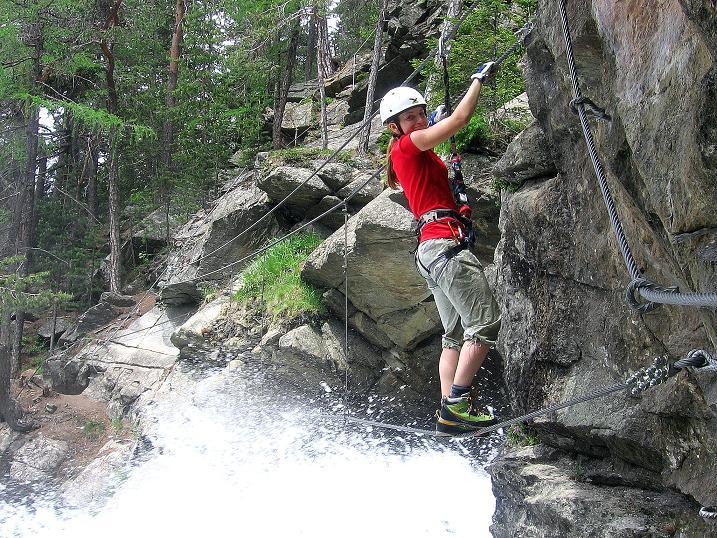 Foto: Andreas Koller / Klettersteig Tour / Stuibenfall Klettersteig (1460m) / 25.05.2009 18:43:09