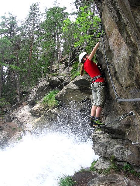 Foto: Andreas Koller / Klettersteig Tour / Stuibenfall Klettersteig (1460m) / 25.05.2009 18:42:58