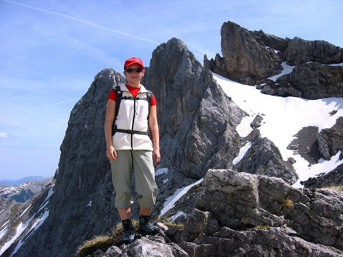 Foto: Andreas Koller / Klettersteig Tour / Karwendelspitze Klettersteig (2385m) / 27.05.2009 23:14:25