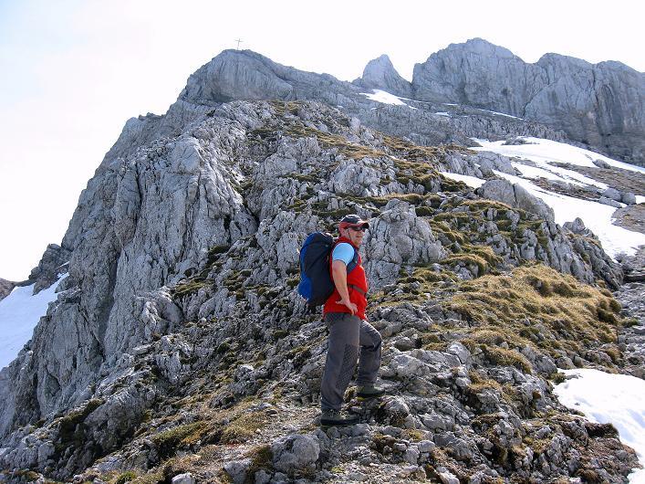 Foto: Andreas Koller / Klettersteig Tour / Karwendelspitze Klettersteig (2385m) / 27.05.2009 23:14:20