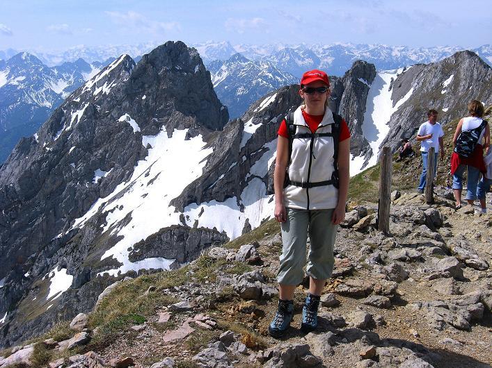 Foto: Andreas Koller / Klettersteig Tour / Karwendelspitze Klettersteig (2385m) / 27.05.2009 23:14:05