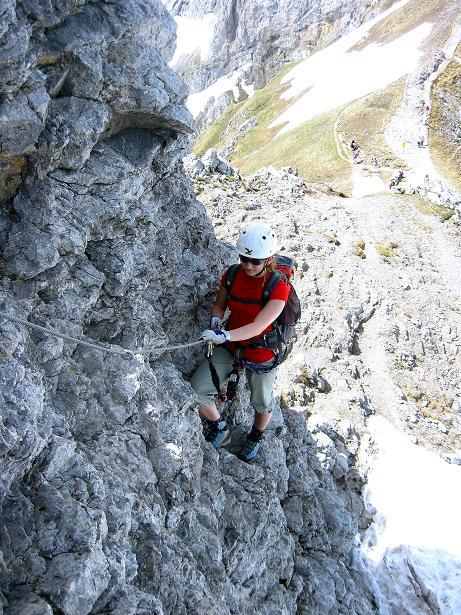 Foto: Andreas Koller / Klettersteig Tour / Karwendelspitze Klettersteig (2385m) / 27.05.2009 23:12:55
