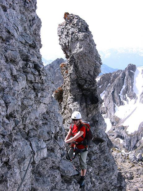 Foto: Andreas Koller / Klettersteig Tour / Karwendelspitze Klettersteig (2385m) / 27.05.2009 23:12:47
