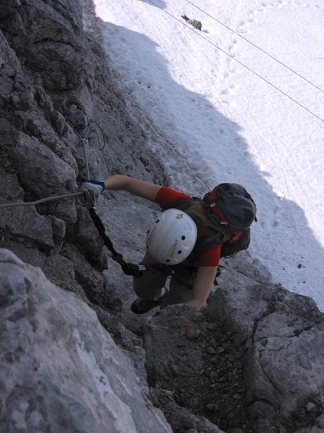 Foto: Andreas Koller / Klettersteig Tour / Karwendelspitze Klettersteig (2385m) / 27.05.2009 23:12:40