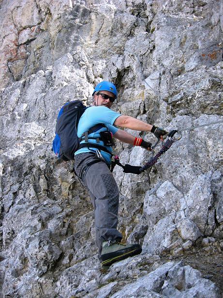 Foto: Andreas Koller / Klettersteig Tour / Karwendelspitze Klettersteig (2385m) / 27.05.2009 23:12:02