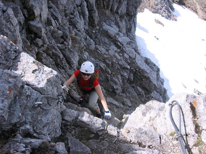 Foto: Andreas Koller / Klettersteig Tour / Karwendelspitze Klettersteig (2385m) / 27.05.2009 23:11:54