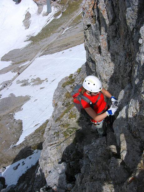 Foto: Andreas Koller / Klettersteig Tour / Karwendelspitze Klettersteig (2385m) / 27.05.2009 23:11:46