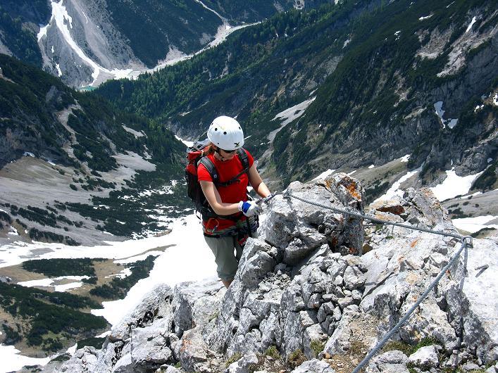 Foto: Andreas Koller / Klettersteig Tour / Karwendelspitze Klettersteig (2385m) / 27.05.2009 23:11:25