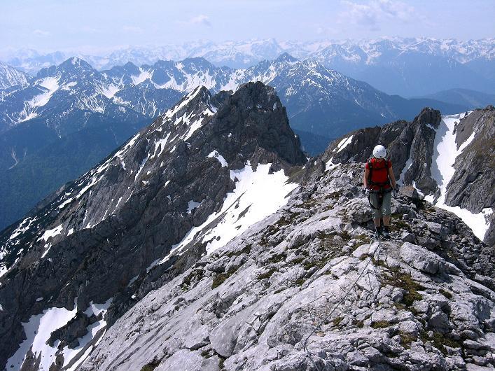 Foto: Andreas Koller / Klettersteig Tour / Karwendelspitze Klettersteig (2385m) / 27.05.2009 23:10:55