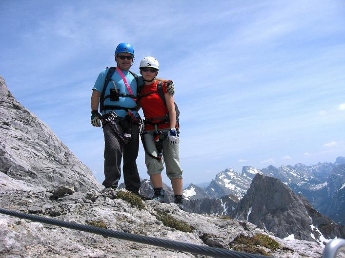 Foto: Andreas Koller / Klettersteig Tour / Karwendelspitze Klettersteig (2385m) / 27.05.2009 23:10:47
