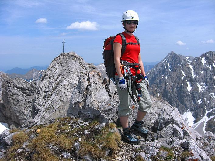 Foto: Andreas Koller / Klettersteig Tour / Karwendelspitze Klettersteig (2385m) / 27.05.2009 23:10:19