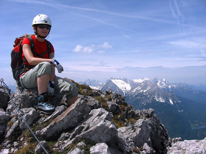 Foto: Andreas Koller / Klettersteig Tour / Karwendelspitze Klettersteig (2385m) / 27.05.2009 23:09:54