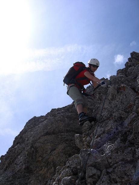 Foto: Andreas Koller / Klettersteig Tour / Karwendelspitze Klettersteig (2385m) / 27.05.2009 23:09:45