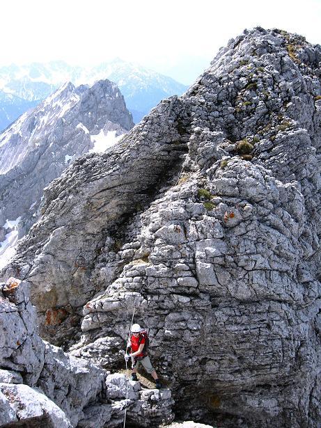 Foto: Andreas Koller / Klettersteig Tour / Karwendelspitze Klettersteig (2385m) / 27.05.2009 23:09:37