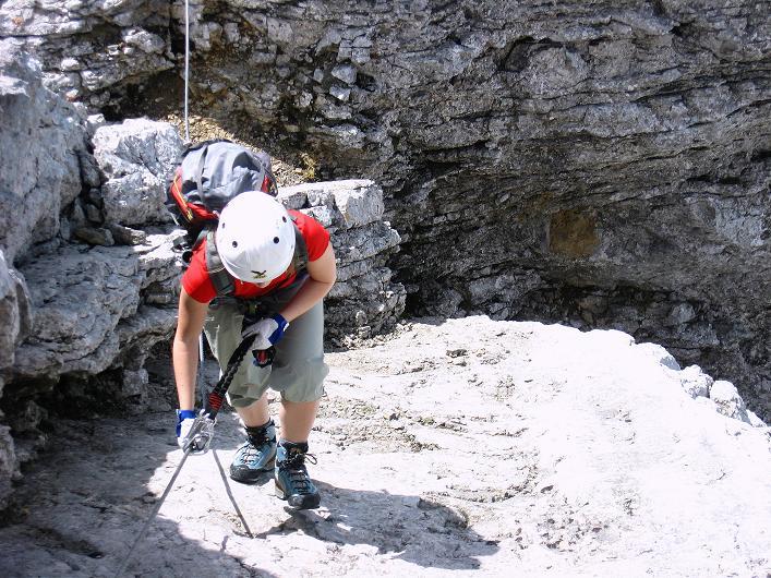 Foto: Andreas Koller / Klettersteig Tour / Karwendelspitze Klettersteig (2385m) / 27.05.2009 23:09:23