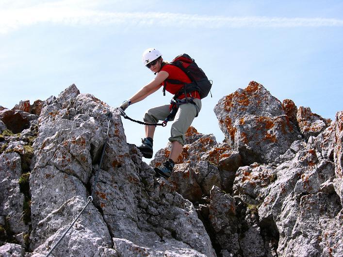 Foto: Andreas Koller / Klettersteig Tour / Karwendelspitze Klettersteig (2385m) / 27.05.2009 23:08:57