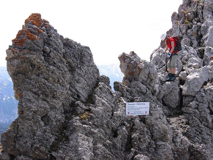Foto: Andreas Koller / Klettersteig Tour / Karwendelspitze Klettersteig (2385m) / 27.05.2009 23:08:44