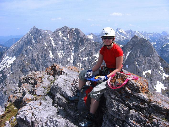 Foto: Andreas Koller / Klettersteig Tour / Karwendelspitze Klettersteig (2385m) / 27.05.2009 23:07:44
