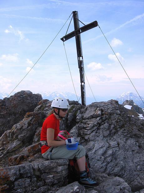 Foto: Andreas Koller / Klettersteig Tour / Karwendelspitze Klettersteig (2385m) / 27.05.2009 23:07:36