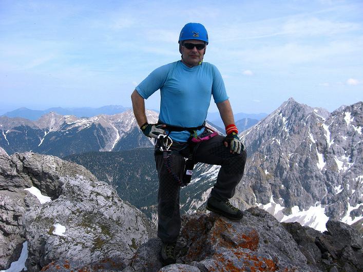 Foto: Andreas Koller / Klettersteig Tour / Karwendelspitze Klettersteig (2385m) / 27.05.2009 23:07:26