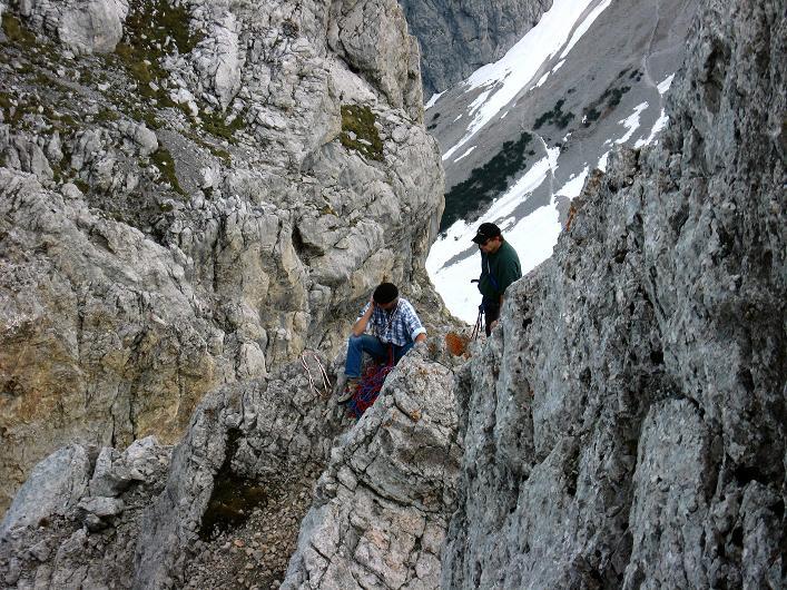 Foto: Andreas Koller / Klettersteig Tour / Karwendelspitze Klettersteig (2385m) / 27.05.2009 23:06:39