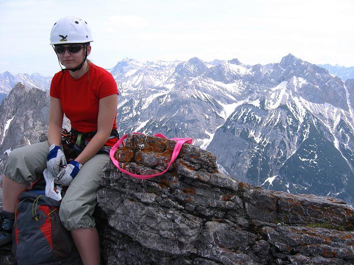 Foto: Andreas Koller / Klettersteig Tour / Karwendelspitze Klettersteig (2385m) / 27.05.2009 23:06:22