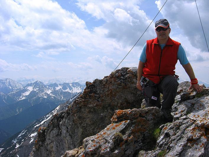 Foto: Andreas Koller / Klettersteig Tour / Karwendelspitze Klettersteig (2385m) / 27.05.2009 23:06:06