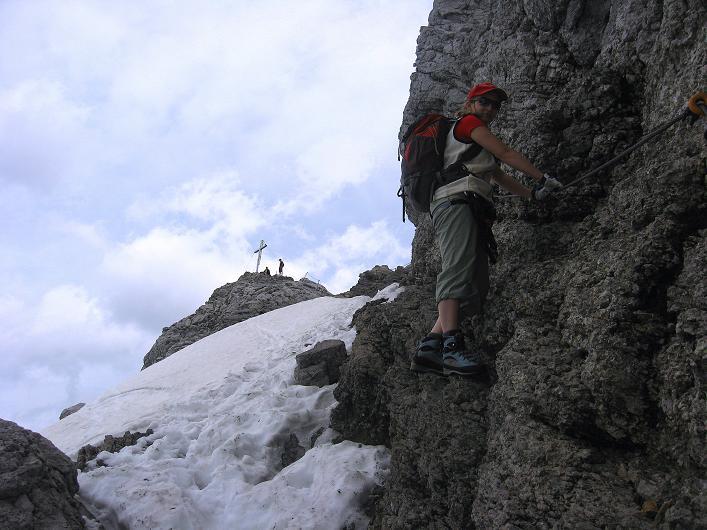 Foto: Andreas Koller / Klettersteig Tour / Karwendelspitze Klettersteig (2385m) / 27.05.2009 23:05:29