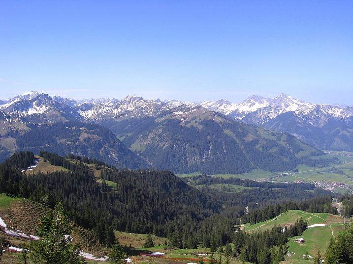Foto: Andreas Koller / Klettersteig Tour / Friedberger Klettersteig und Steig auf die Rote Flüh (2111m) / 27.05.2009 01:14:05