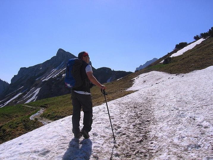 Foto: Andreas Koller / Klettersteig Tour / Friedberger Klettersteig und Steig auf die Rote Flüh (2111m) / 27.05.2009 01:13:42
