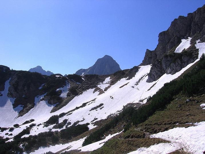 Foto: Andreas Koller / Klettersteig Tour / Friedberger Klettersteig und Steig auf die Rote Flüh (2111m) / 27.05.2009 01:13:33