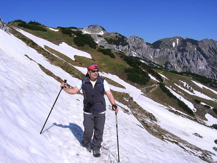 Foto: Andreas Koller / Klettersteig Tour / Friedberger Klettersteig und Steig auf die Rote Flüh (2111m) / 27.05.2009 01:13:28