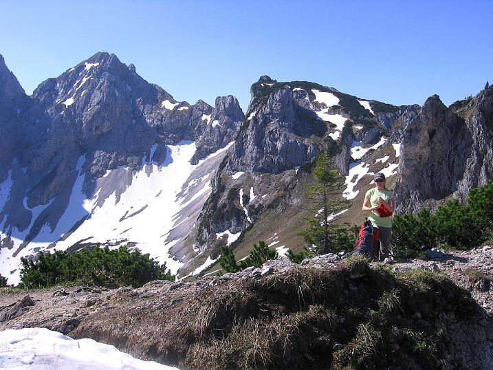 Foto: Andreas Koller / Klettersteig Tour / Friedberger Klettersteig und Steig auf die Rote Flüh (2111m) / 27.05.2009 01:13:17