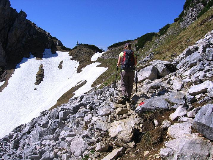 Foto: Andreas Koller / Klettersteig Tour / Friedberger Klettersteig und Steig auf die Rote Flüh (2111m) / 27.05.2009 01:12:58