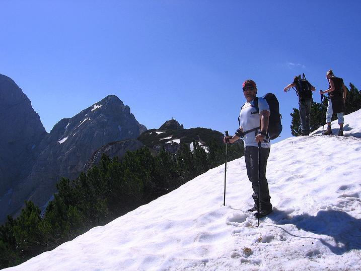 Foto: Andreas Koller / Klettersteig Tour / Friedberger Klettersteig und Steig auf die Rote Flüh (2111m) / 27.05.2009 01:12:41