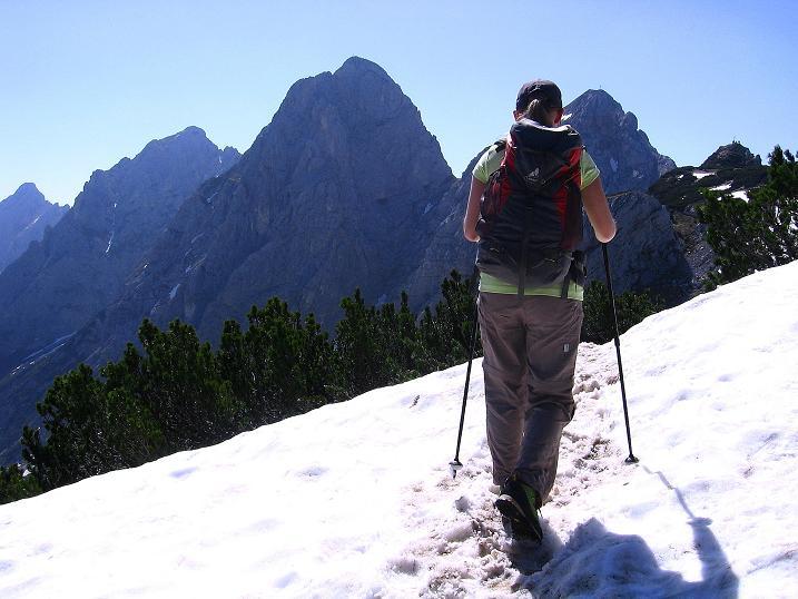 Foto: Andreas Koller / Klettersteig Tour / Friedberger Klettersteig und Steig auf die Rote Flüh (2111m) / 27.05.2009 01:12:34