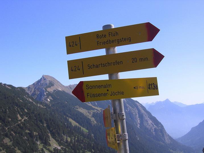 Foto: Andreas Koller / Klettersteig Tour / Friedberger Klettersteig und Steig auf die Rote Flüh (2111m) / 27.05.2009 01:12:25