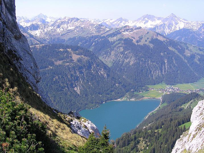 Foto: Andreas Koller / Klettersteig Tour / Friedberger Klettersteig und Steig auf die Rote Flüh (2111m) / 27.05.2009 01:12:16