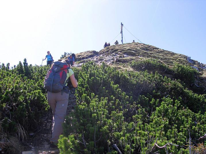 Foto: Andreas Koller / Klettersteig Tour / Friedberger Klettersteig und Steig auf die Rote Flüh (2111m) / Am Schartenschrofen / 27.05.2009 01:12:07