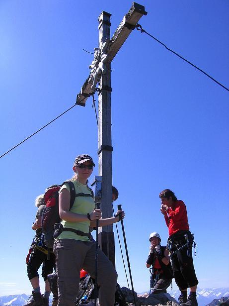 Foto: Andreas Koller / Klettersteig Tour / Friedberger Klettersteig und Steig auf die Rote Flüh (2111m) / 27.05.2009 01:11:14