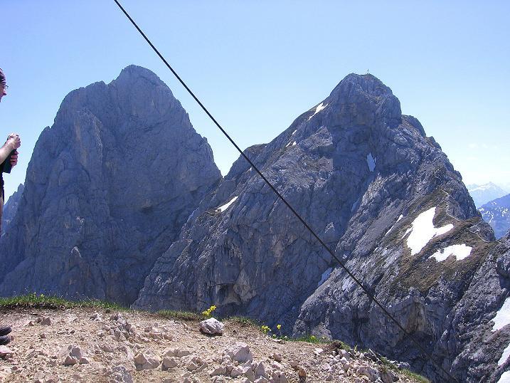 Foto: Andreas Koller / Klettersteig Tour / Friedberger Klettersteig und Steig auf die Rote Flüh (2111m) / 27.05.2009 01:10:42