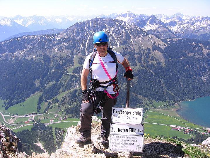 Friedberger Klettersteig : Fotogalerie tourfotos fotos zur klettersteig tour friedberger